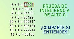 Resolver esta ecuación matemática simple podría significar que eres un genio