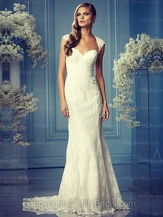 I have just fallen in love with this dress. Seriously tempted to buy for whenever I get married.