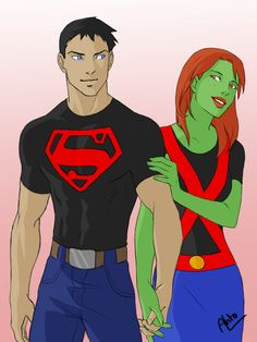 Miss Martian Superboy - 08 by ~Drakyx on deviantART