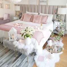 45 Beautiful and Modern Bedroom Decorating Ideas for This Year Page 2 of 45 Schlafzimmer Cute Bedroom Ideas, Modern Bedroom Decor, Cute Room Decor, Girl Bedroom Designs, Room Ideas Bedroom, Stylish Bedroom, Bedroom Furniture, Furniture Sets, Furniture Stores