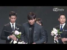 141117 Lee Min Ho @ 2014 Korean Popular Culture & Arts Awards