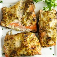 Grilled Salmon with Spiced Mayo (plus secret to moist fish)