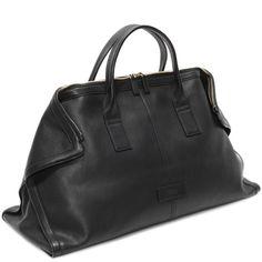 Leather De Manta Carry All
