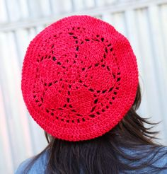7 One-Skein Crochet Patterns to Bust Your Yarn Stash Free up some of that yarn stash storage space with 7 lovely one-skein crochet patterns: One Skein Crochet, Crochet Adult Hat, Crochet Beret, Crochet Cardigan, Crochet Baby, Knitted Hats, Slouch Hats, Flower Crochet, Yarn Stash