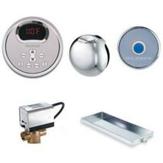 Check out the Mr. Steam Steambaths MSBUTLER2RD-BB Round Butler Package 2 with Combination of Steam Room Controls Including Square eTempo Control Brushed Bronze priced at $1,912.50 at Homeclick.com.
