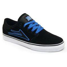 Lakai Brea select daim noir bleu