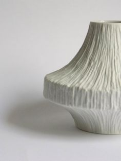 Heinrich White Vase West German