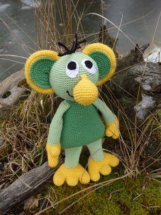Rákosníček Tweety, Dinosaur Stuffed Animal, Toys, Animals, Character, Art, Amigurumi, Activity Toys, Art Background