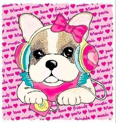 Cute Dog Pictures, Print Pictures, Dog Background, Puppy Drawing, Baby Scarf, Dibujos Cute, Cute Dogs And Puppies, Cartoon Dog, Animal Drawings