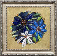 Mosaic.Клематисы
