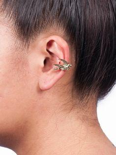 Gold Dove Ear Cuff