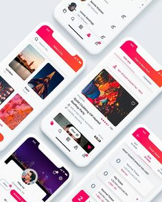 """Evez 2.0 Event Discovery & Booking App UI Kit for Sketch & XD. Click link in bio and search """"Evez 2"""" to check out this product."""