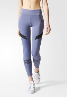 00575aab0 adidas Performance. Tights - purple. Outer fabric material 79% polyester