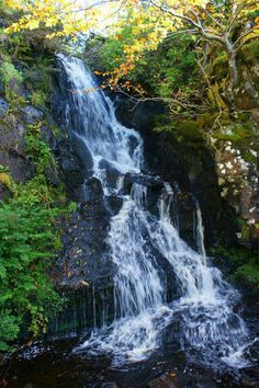 Falls near Dunvegan castle.
