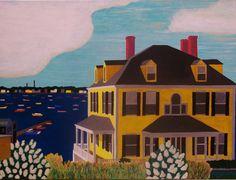 "Marblehead Harbor, Version 1 (print)/$12.00/ 8"" x 10"""