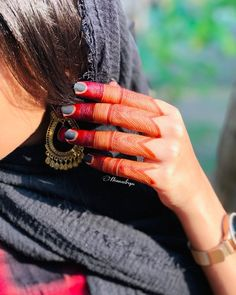 Indian Mehndi Designs, Mehndi Designs For Fingers, Modern Mehndi Designs, Latest Mehndi Designs, Henna Designs, Henna Mehndi, Mehendi, Mhendi Design, Mehndi Simple
