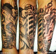 Barber Tattoos - Bing Images