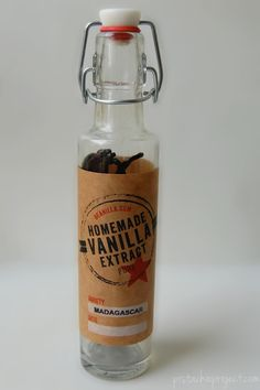 The Pistachio Project: Homemade Vanilla Extract
