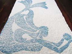 Hey, I found this really awesome Etsy listing at https://www.etsy.com/listing/158408023/bath-mat-cotton-rug-mermaid-color-navy