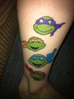 26 Awesome Tattoos Inspired by Teenage Mutant Ninja Turtles
