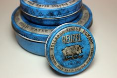For mornings of any size, Reuzel`s Heavy Hold. www. pomade.com