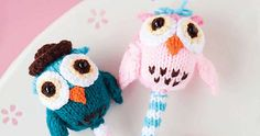 Ravelry: Owl Rattles pattern by Monica Rodriguez Fuertes