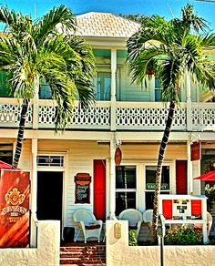 Located on the corner of Duval and Amelia streets, the Speakeasy in Key West has an interesting history. It has a basement, a rare feature in Key West houses since you can't usually dig very far before you hit water, where rum and spirits were once hidden alcohol was contraband. It was built when this neighborhood was known as 'Gattoville,' since the Gato Cigar Factory was just around the corner on Simonton Street. Rum and cigars have always seemed to go together.