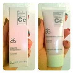 Review, Ingredients, Swatches: Arbonne Intelligence Genius Nightly Resurfacing Pads, Solution, Intelligence CC Cream With 10-in-1 Beauty Benefits