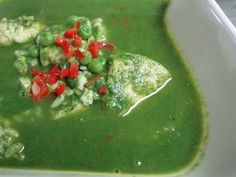 Aguadito De Pescado Peruvian Fish Soup