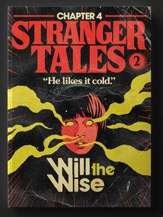 E não só isso: os episódios também foram transformados em cartuchos de Atari! Butcher Billy, designer e ilustrador brasileiro conhecido por transformar diversas mídias do mundo pop em materiais retrô, decidiu transformar os episódios da segunda temporada de Stranger Things em capas de livros dos anos 80 inspiradas nas obras do Stephen King! Não fosse…