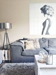 We are inspired by this beautiful and elegant black&white #IXXI, Huisbaas_Styling created. Would you ever leave your couch if your living room looks like this? For more inspiration, see; http://www.ixxidesign.com/blog #IXXI #design #ixxidesign #inspiration #blackandwhite #photography #home #decoration #styling #interior #wallart