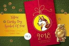 Chinese New Year Cards. Vol.3 by O'Gold! on @creativemarket