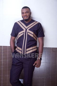 Ace menswear fashion designer Vanskere is out with its new classic collection. The signature style of Vanskere is made bold in these designs for the - BellaNaija Style. African Wear Styles For Men, Ankara Styles For Men, African Dresses Men, African Clothing For Men, African Shirts, African Attire, Nigerian Men Fashion, African Men Fashion, Africa Fashion