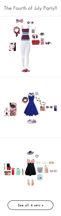 The Fourth of July Party!! by abbythomas05 on Polyvore featuring polyvore art