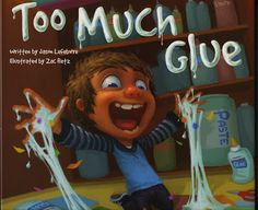 "that artist woman: ""Too Much Glue"" Giveaway"