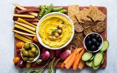 9 Healthy Veggie Dips Under 200 Calories