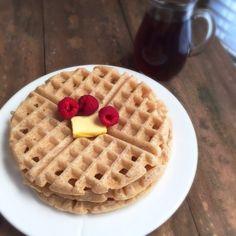 Paleo Waffles - featuring Cassava Flour
