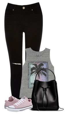 """Untitled #1026"" by directioner-123-ii ❤ liked on Polyvore featuring Oasis, Billabong, 3.1 Phillip Lim and Converse"