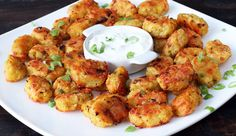Easy recipe for homemade tater tots . Free tutorial with pictures on how to cook a potato dish in under 55 minutes by cooking with oil, potatoes, and cheese. Recipe posted by Home Cooking Adventure. in the Recipes section Difficulty: Easy. Mashed Potato Pancakes, Potato Cakes, Tater Tots, Potato Tots, Tater Tot Recipes, Potato Recipes, Veggie Recipes, Roasted Baby Potatoes, Baked Potatoes