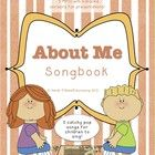 This songbook contains five original, orchestrated, catchy pop songs to go along with your 'All About Me' topic. Listen to the songs in the cla...
