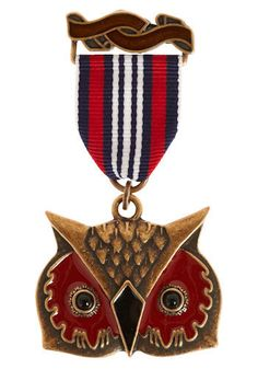 Medal of Honor in Owl - i have just the coat that goes with this