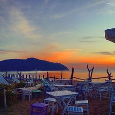 "Photo by jonthisway - Photo taken in ""Bagno Baratti"" Tuscany #sunset"