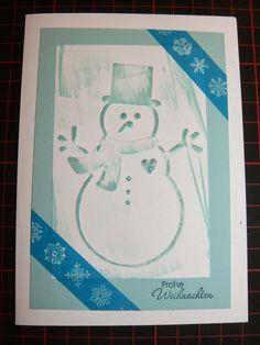 Kreativreport: Weihnachtskarte Nr. 7