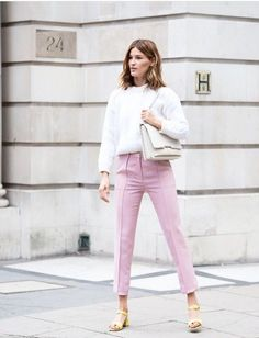 The Front Row View: Hanneli Mustaparta's Neutral-Toned Street Style