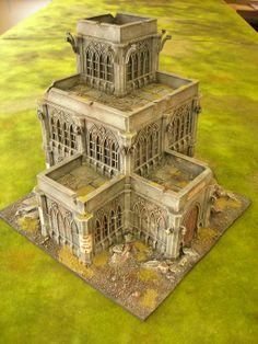 Matt's CoD/building terrain (now just terrain really) - Page 2 Warhammer Terrain, 40k Terrain, Game Terrain, Wargaming Terrain, Warhammer Paint, Warhammer Fantasy, Warhammer 40k, Hirst Arts, Sci Fi Miniatures