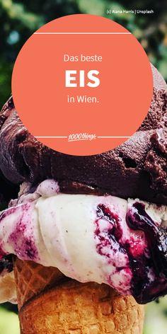Schokoladig und cremig oder doch lieber erfrischendes Sorbet? Egal welche Sorte, Hauptsache Eis? Finden wir auch. Da der Sommer endlich angekommen ist, präsentieren wir euch den ersten Teil unserer Übersicht über Wiens beste Eisläden. Fröhliches Schlecken und guten Appetit! Sorbet, Eating Ice Cream, Don't Care, Travel
