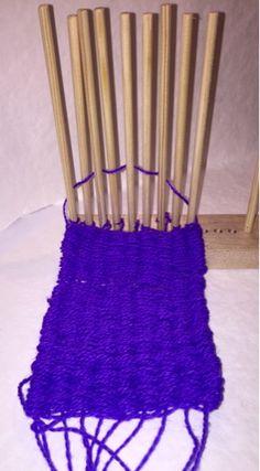 Kuulumisia blogi: stig weaving, tappikudontaa