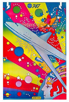 Peter Max, Pan Am.