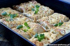 Przepis na Naleśniki z brokułami, szynką i serem. Jak zrobić Naleśniki z brokułami, szynką i serem Są przykładem smacznych naleśników wytrawnych. Brokuły, szynka i ciągnący żółty ser, stanowią doskonałe połączenie sm Cooking Recipes, Healthy Recipes, Food Inspiration, Main Dishes, Food And Drink, Lunch, Dinner, Ethnic Recipes, Meat