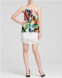 Clover Canyon Top & Skirt #summeroutfit #teelieturner http://www.teelieturner.com/